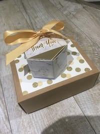 Gold Gift Boxes (Wedding, Shower)