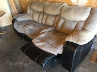 MOVING SALE- Reclining 3-Seat Sofa