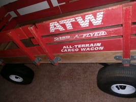 $90 obo, Radio flyer wagon and tricycle