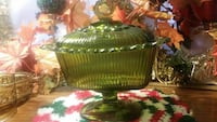 Depression glass candy dish Granbury, 76048