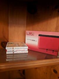 Red 3dsxl with 16 games. Smithville, L0R 2A0