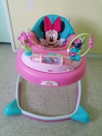 baby's pink and blue Minnie Mouse walker Riverdale, 93656