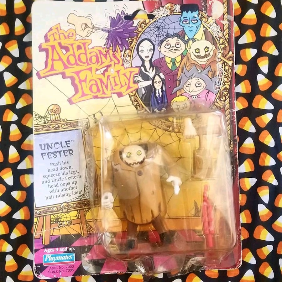 1992 The Addams Family Uncle Fester Collectible Fi