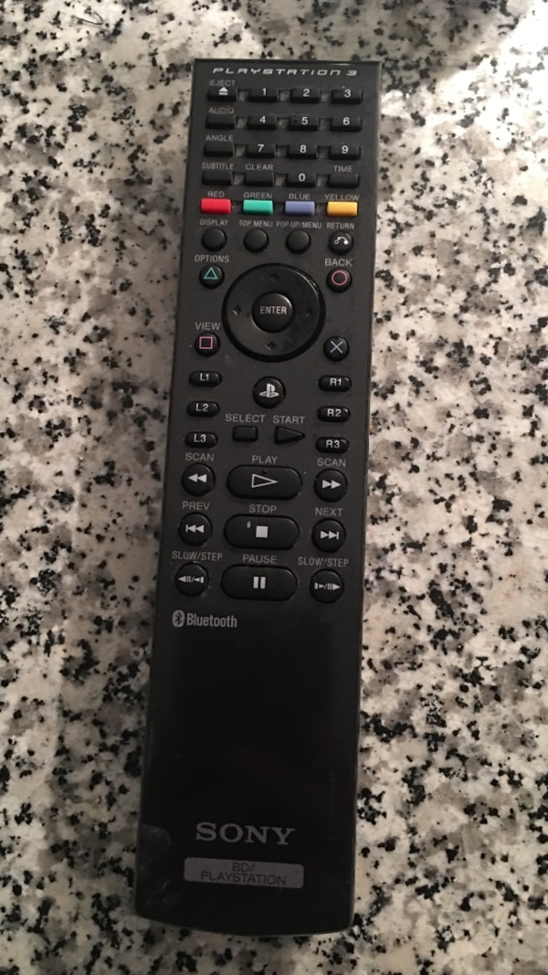 Play station 3 remote