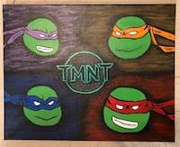 Teenage mutant ninja turtle painting