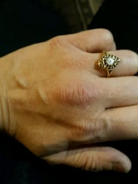 1940s antique 10 k gold and diamond filagree ring Conyers, 30012