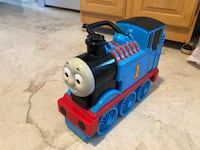Vintage Thomas the Train Carrying Case!! Little Falls, 07424