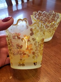 Yankee Candle Sunny Flowers candle holders