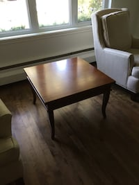 rectangular brown wooden coffee table Mont-Royal, H3R 3J6