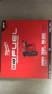 Milwaukee M18 Fuel 16 gauge straight finish nailer . Model 2741-20 . Tool only . BNIB. Firm price  Langley, V2Y 0H9