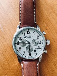 Rotary men's watch with leather band  Atlanta, 30312