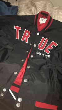 True Religion Nylon Varsity Jacket Toronto, M6M 0A3