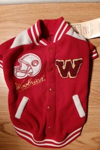 Dog Letter Jacket,  Medium.