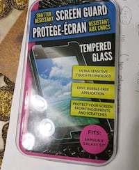 Samsung S7 tempered glass screen protector Milton