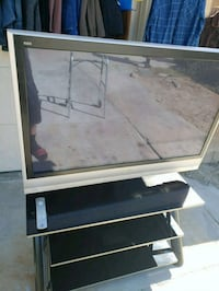 Panasonic 50in plasma t.v with stand  Lancaster, 93536