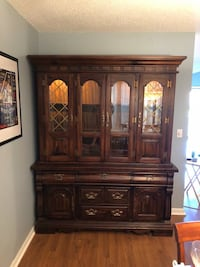 brown wooden china buffet hutch Middletown, 06457
