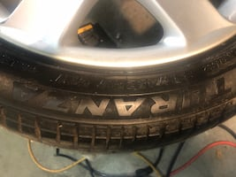 BMW factory 17 inch rim with tire