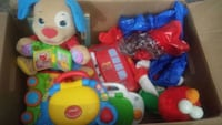 Box of kids toys and puzzles St. Catharines, L2M 4T3