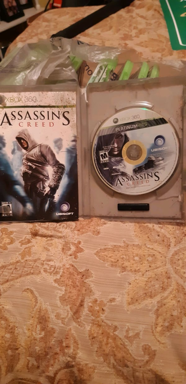 Xbox 360 Assassins  creed  258515dd-0ef0-41f2-9857-40b6db4443b3