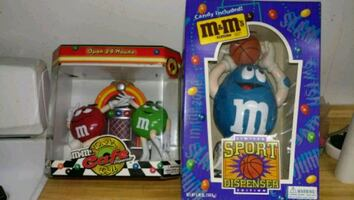 M&M dispenser's