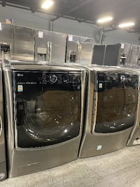 LG: Front-load Jumbo Washers River Rouge