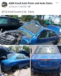 Parts 2012 - Ford - Fusion Partes Pharr