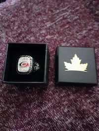 Carolina hurricanes replica stanley cup ring