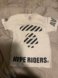 Aape white tee size small Markham, L6B 0K4