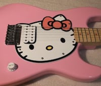 pink Hello Kitty electric guitar Norwalk, 06851