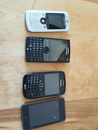 Old phones and ipod 8gb for parts Montreal, H2J 2Z2