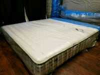 New king mattress poccket coil. Showroom area sale Edmonton, T6B 2P1