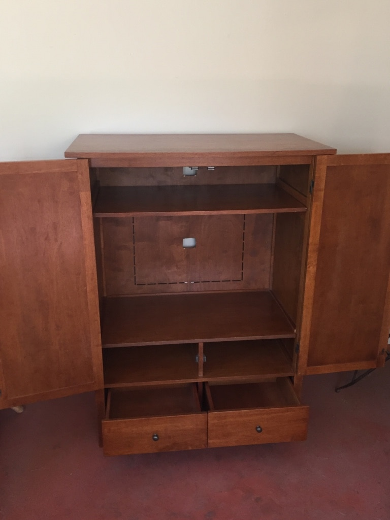Armoire/Television Cabinet With Drawers