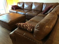 Leather Sectional with Ottoman Los Angeles, 90292