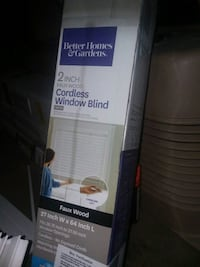 New fauxs wooden blinds  1488 mi