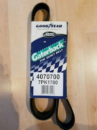 Goodyear Serpentine Belt 7PK1780 New Westminster, V3M 5L8
