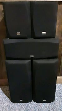 Onkyo 6 piece surround  sound  system.  Gaithersburg, 20877