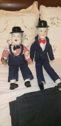 laurel and hardy dolls  St. Catharines, L2P 3Y8