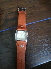 analog watch with brown leather band Victorville, 92392