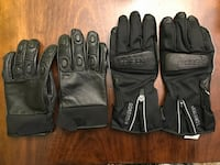 2 brand new Motorcycle leather glove 列治文, V7E 3S5
