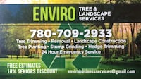 Landscaping and tree services  null