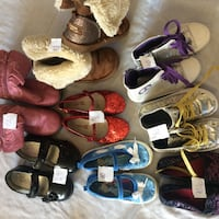 Girl shoes, great condition.