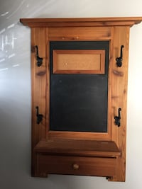 Rustic entry organizer, coat hook  Calgary, T1Y 1Y3