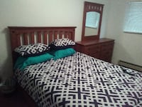 black and white bed sheet Surrey