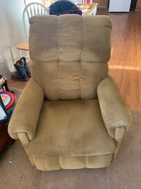2 set light brown recliner's