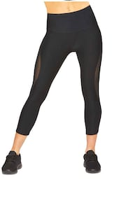 Black yoga mesh pants  Pickering, L1W 2C2