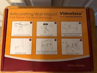 New-Video Secu ARTICULATING WALL MOUNT FOR FLAT PANEL TV's  Baltimore, 21236