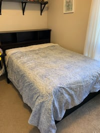 Double Bed Frame with Drawers North Vancouver, V7M 2H4