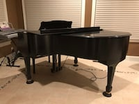 Koehler and Campbell baby grand piano with Digital Player Monkton, 21111