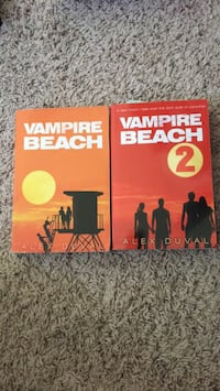 Vampire beach books