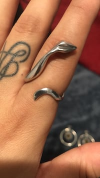 Sterling silver snake ring  Los Angeles, 90744